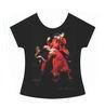 La Truco Flamenco Dancer T-Shirt. Red Dress 18.10€ #50008ROJO