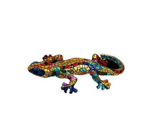 Barcelona Güell Park Salamander Magnet. 10cm