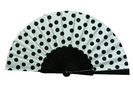 Polka Dots Fan With White Background and Black Polka Dots 3.50€ #50032Y480LNG