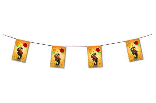 Flamenca Dancer Flag Garlands