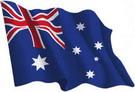 Australia flag sticker 1.30€ #508540AUSTRAL