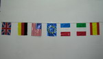 Flag's Garland of Countries of the World 12.55€ #501400008