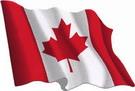 Canada flag sticker 1.30€ #508540CND