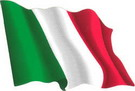 Italy flag sticker