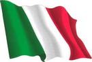 Italy flag sticker 1.30€ #508540ITA