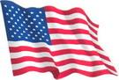 USA flag sticker 1.30€ #508540USA