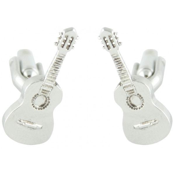 Cufflinks Spanish Guitar 3D