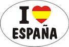 I love España - Sticker