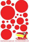 Red polka dots Stickers 14.00€ #500670001