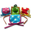 Polka dots cases for castanets