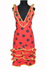 Flamenco Apron Canastera - Red 21.90€ #504920015
