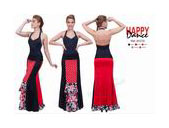 Skirts for flamenco dance Happy Dance Ref.EF270PS13PS10PS61PS155PS154 57.53€ #50053EF270