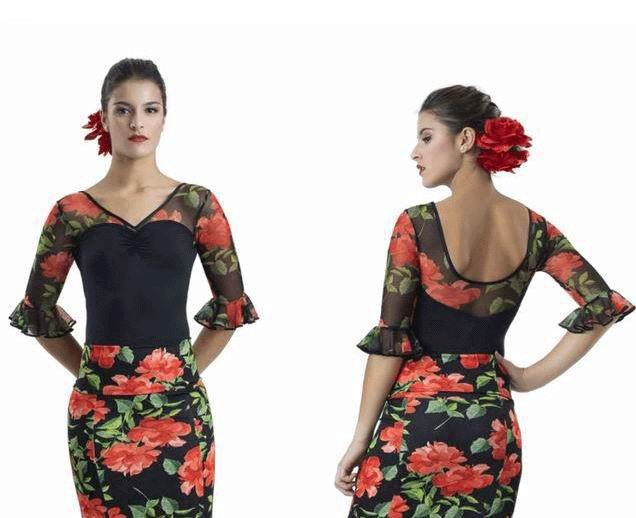 Woman Flamenco Maillot. Happy Dance. Ref. 3104S-PM13-MRE61