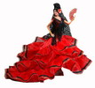 Flamenco doll mod. Bolero - 34 cm