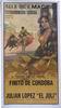 Madrid bulls square Poster - Ref. 139 10.10€ #50491CCN139