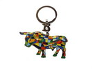 Key ring with mosaic bull 7.25€ #5057908563