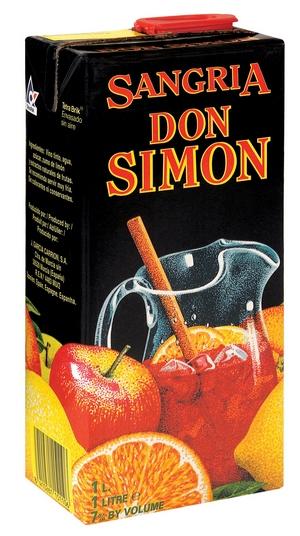 Sangria Don Simón - Tetra Pack