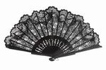 Black Lace Fan for Ceremony. Ref. 494NG 21.98€ #505800494NG