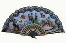 Fan With Flamenco and Bullfights Scenes ref. 2776