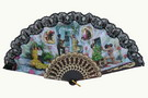Fan With Flamenco and Bullfights Scenes ref. 2777 3.25€ #501022777