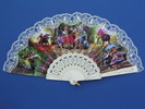 Fan With Flamenco and Bullfights Scenes ref. 277 3.25€ #501020277