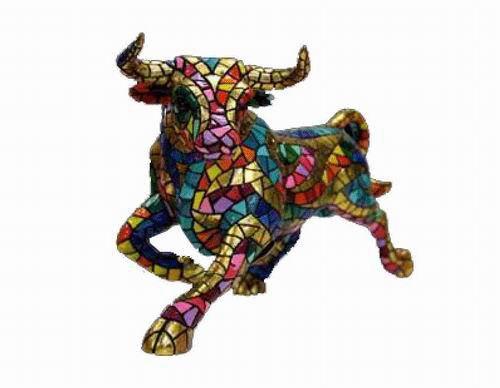 Trencadis Carnival Collection Bull. Gaudí. 24cm
