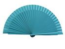 Plain blue fan for kids 3.50€ #50032Y600TRQ