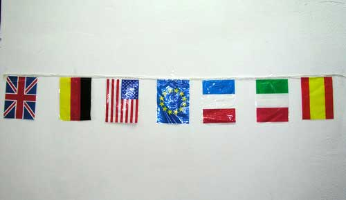 Flag's Garland of Countries of the World