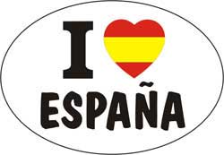 I love España - Sticker 1.30€ #508544026