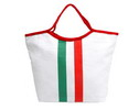 Italian flag bag