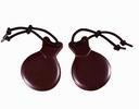 Castañuelas para flamenco: bolero marrón fibra nº 6 43.00€ #504740041