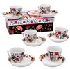 Coffee set. 6 flamenco coffee cups 20.80€ #500580010738