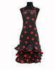 Black Flamenco Apron with Red Dots 15.00€ #504920006