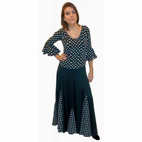 Faldas para bailar flamenco. Modelo Soleares