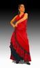 Rehearsal Flamenco Skirt: Model Fandango 112.00€ #50171FANDANGO