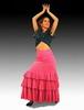 Rehearsal Flamenco Skirt: Model Granaina 112.00€ #50171GRANAINA