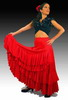 Rehearsal Flamenco Skirt: Model Rocio 120.00€ #50171ROCIO