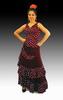 Rehearsal Flamenco Skirt: Model Tamara 112.00€ #50171TAMARA