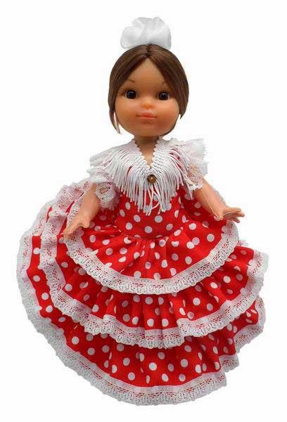 Muñecas de España. 25cm