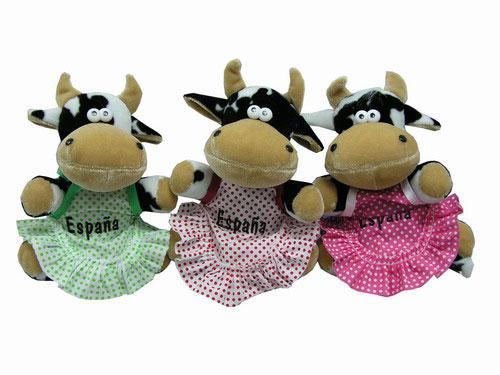Vaca Sentada con Delantal España