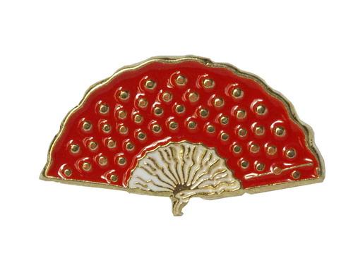 Red Fan Pin