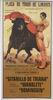 Bull-fighting Poster. Historic. Gitanillo de Triana, Manolete, Dominguin 10.10€ #500190543