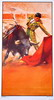 The bullfighting posters with bullfighting scenes ref. 204 10.10€ #50491CCN204