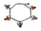 Bracelet with bulls heads