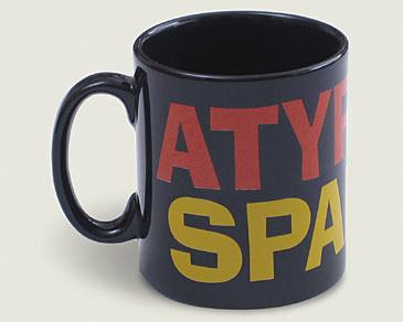 Mug Atypical Spanish in black