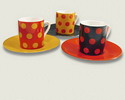 Expresso cups with polka dots 3.00€ #50543TZ03202E