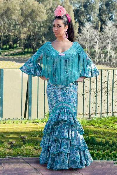 Traje de Flamenca. Esperanza