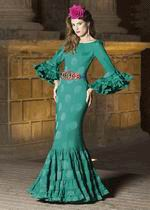 Traje de Flamenca. Modelo Aguamarina. 2017-2018 370.24€ #50115AGUAMARINA2017