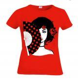 T-shirt Eventail de flamenco 14.50€ 50073ABANICO