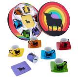 6 coffee cups Osborne Bull colours 23.60€ 500580011247
